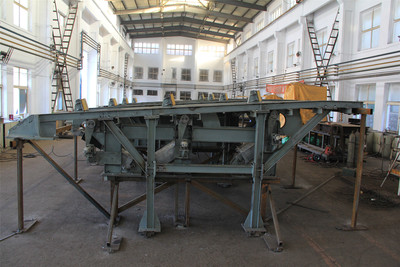 JFE钢管生产线减速装置平台